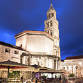 A Night View Of The Cathedral Of Saint Domnius In Split by Didier Marti