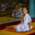 A Novice Monk In Rural Thailand by Lee Craker