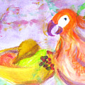 A Parrot And The Passion Fruit by Michela Akers