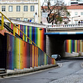 A Throughway Of Many Colors by Lorraine Devon Wilke