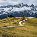 A Path In The Dolomites - Alta Badia, Italy - Landscape Photogra by Giuseppe Milo