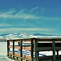 A Peaceful Pier by David Lou