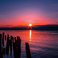A Pend Oreillle Sunrise by Josh Smith Photography