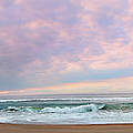 Panoramic Photograph Of A Peaceful Sunrise At Lake St Lucia In South Africa by Ronel Broderick
