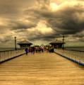 A Pier by Svetlana Sewell