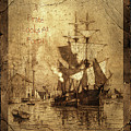 A Pirate Looks At Forty Schooner Wharf by John Stephens