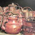 A Plethora Of Pots by Susan Moyer
