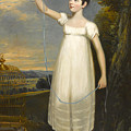 A Portrait Of Ellen Smith Of Nottingham by William Beechey