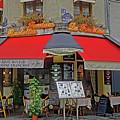 A Quaint Restaurant In Paris, France by Richard Rosenshein