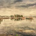 A Quiet Little Harbor by John M Bailey