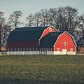A Red Barn by Viviana Nadowski