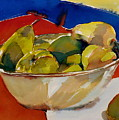 A Reflection On Pears by Doranne Alden