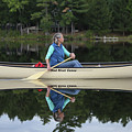 A Reflective Paddle by John Meader