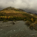 A River Runs Through The Brooks Range Alaska by Teresa A and Preston S Cole Photography