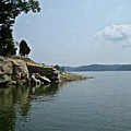 A Rocky Point - Monroe Lake by Scott D Van Osdol