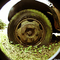 A Rolling Tire Gathers No Moss by Clayton Bruster