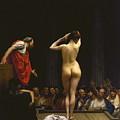 A Roman Slave Market by Jean - Leon Gerome