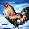 A Rooster In Maine by Marsha Hale