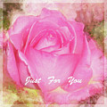 Enjoy A Rose Just For You by Mona Stut