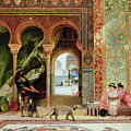 A Royal Palace In Morocco by Benjamin Jean Joseph Constant