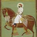 A Ruler On Horseback by Alwar