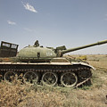 A Russian T-62 Main Battle Tank Rests by Terry Moore