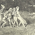 A Scarecrow by Charles Altamont Doyle