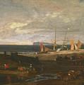 A Scene On The English Coast by Joseph Mallord William Turner