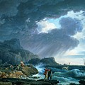 A Seastorm by Claude Joseph Vernet