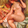 A Seating Bather 1906 by Renoir PierreAuguste