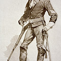 A Sergeant Of The Us Cavalry by Frederic Remington