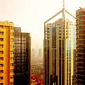 A Shanghai Sunset by Christine Till