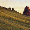 A Shiprock Sunrise - New Mexico - Landscape by Jason Politte