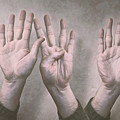 A Show Of Hands Day 197 by Scott Norris