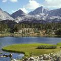 A Sierra Mountain Lake In Summer by Stephen Sharnoff