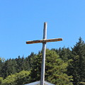 A Simple Cross On Hwy 101 by Marie Neder
