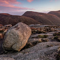 A Slievenaglogh Rock In Fading Golden Light  by Glen Sumner