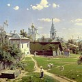 A Small Yard In Moscow by Vasilij Dmitrievich Polenov
