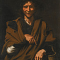 A Smiling Beggar by Master of the Gamblers