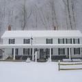 A Snowstorm At Valley Green Inn by Bill Cannon
