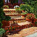 A Spanish Garden by David Lloyd Glover