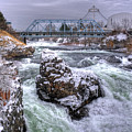 A Spokane Falls Winter by Lee Santa