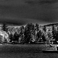 A Spring Day On Old Forge Pond by David Patterson