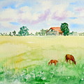 A Spring Graze by Sharon Mick