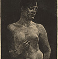 A Standing Nude by Max Klinger