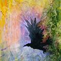 A Stately Raven by Sandy Applegate