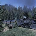 A Steam Engine Chugs Through A Mountain by Taylor S. Kennedy
