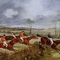 A Steeplechase - Near The Finish Henry Thomas Alken by Eloisa Mannion