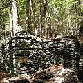 A Stone Structure In The Berkshire Hills by Sandy Gorton Houseman