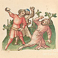 A Stoning by Austrian 15th Century